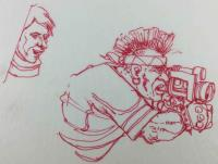 Shadowrun - Cameraman Sketch