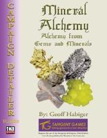 Mineral Alchemy - Alchemy from Gems and Minerals