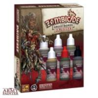Zombicide Black Plague Green Horde Paint Set