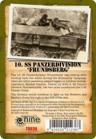 "10. SS-Panzerdivision ""Frundsberg"" Dice & Token Set"