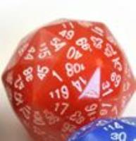 d120 Red w/White