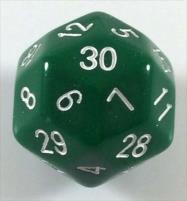 D30 Green w/White