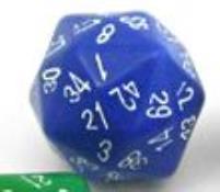 d48 Blue w/White