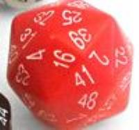 d48 Red w/White