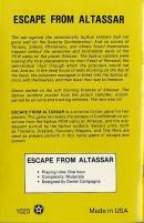 Escape From Altassar