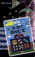 D6 8-Bit Dice - Shooter (6)