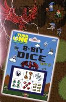 D6 8-Bit Dice - RPG (6)