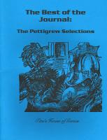 Best of the Journal - The Pettigrew Selections