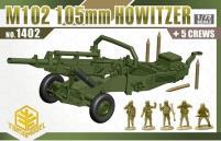 M102 105mm Howitzer w/Crew