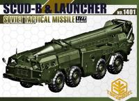 Scud-B & Launcher, Soviet Tactical Missile