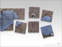 25mm Square Infantry Diorama #2 - Battleground