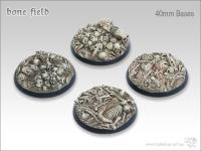 40mm Round Base - Bone Field
