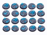 32mm Round Base - Crystal Field (20)