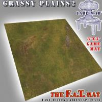 3' x 3' - Grassy Plains #2