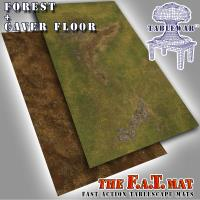6' x 3' Double-sided Forest + Cave Floor
