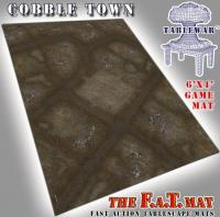 6' x 4' - CobbleTown