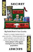 Promo Card - Secret, Big Trade Show in Your Country