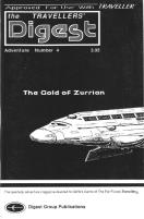 """#4 """"The Gold of Zurrian, Kagamira Subsector"""""""