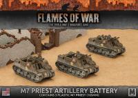M7 Priest Artillery Battery