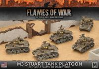 M3 Stuart Tank Platoon