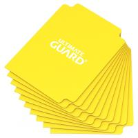 67mm x 93mm Card Dividers - Light Yellow (10)