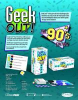 Geek Out! (90's Edition)