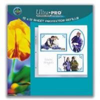 "12"" x 12"" Size Sheet Protector Pages (10)"