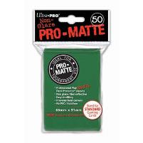 Pro-Matte Non-Glare Card Sleeves - Green (50)