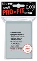 Small Pro-Fit Sleeves - Clear (100)