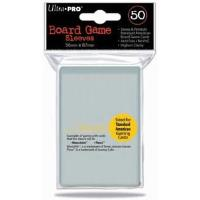 Standard American Board Game Sized Sleeves - Clear (50)
