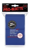 Pro-Matte Non-Glare Card Sleeves - Blue (100)