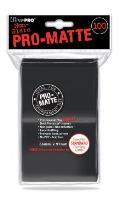 Pro-Matte Non-Glare Card Sleeves - Black (100)