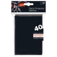 Oversized Deck Protectors Sleeves - Black (40)