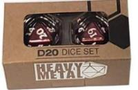 D20 Heavy Metal - Red