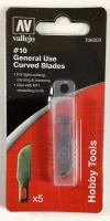 #10 General Purpose Curved Blades (5)
