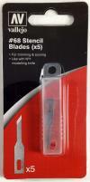 #68 Stencil Edge Blades (5)