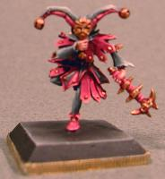 Bloody Rose w/Fan or Bladed Glove & Nik Nak - Halfling Jester