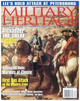 "Vol. 6, #3 ""Alexander the Great & the Siege of Tyre, Against All Odss - Marines at Chosin, First Gas Attack on the Western Front"""