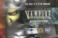 Vampire the Masquerade - Redemption, Promo Poster