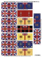 British Napoleonic Flags of the Peninsular War - 1808-1814