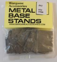 Metal Base Stand - 40mm x 30mm (25)