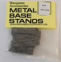 Metal Base Stand - 40mm x 15mm (40)