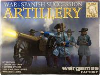 War of the Spanish Succession - Artillery