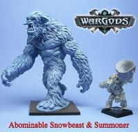 Abominable Snowbeast & Summoner (Resin)