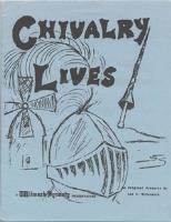 Chivalry Lives (2nd Printing)