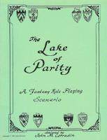 Lake of Parity, The (2nd Printing)
