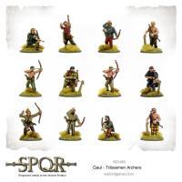 Gaul - Tribesmen Archers