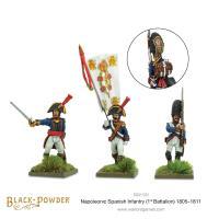 Spanish Infantry - 1st Battalion 1805-1811