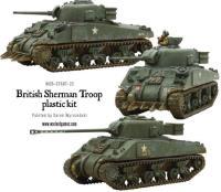 British Sherman V Troop w/ VC Firefly