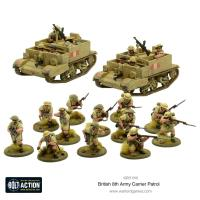 British 8th Army Carrier Patrol